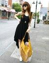 ショッピングマキシ丈ワンピース 巻きスカートタイプマキシワンピース 全2色 レディース ドレス