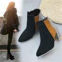 ショッピングブーティー ブーツ ショートブーツ レディース ブーティー 靴 ヒール 歩きやすい 秋冬 大人気