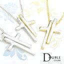 ネックレス レディース 春夏秋冬 セパレートされた十字架デザイン 真鍮または合金
