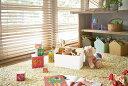 ショッピング収納ボックス おもちゃ収納 収納ボックス ファボリ ホワイト ベージュ ブラウン ブルー おもちゃ箱 天然木 ギフト プレゼント