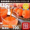 100%無農薬人参冷凍ジュース とくべつなにんじんジュース 1ヶ月分 100cc×30p にんじ