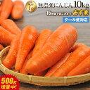 【あす楽】国産 無農薬にんじん ジュース用 10kg 送料無...