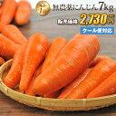 【訳あり】国産 無農薬にんじん ジュース用 7kg 送料無料 クール便 無農薬 野菜 酵素