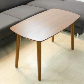 カフェテーブルソファに座って何かするのにちょうどいい高さのセンターテーブルレトロアンティークソファ北欧風テーブルカフェ家具