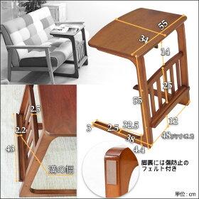 ソファテーブルサイドテーブルコーヒーテーブルルマガジンラックベッドテーブル木製テーブルパソコン用