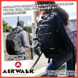 AIRWALK 高機能本格バックパック 通学 高校生 通学用 リュックサック レインカバー レディース メンズ 大容量 リュック 雨カバー付き アウトドア 防水 リュック 通学 リュックサック