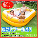 プール INTEX(インテックス) マンダリンスイムセンターファミリープールビニールプール プール 家庭用プール 長方形 大型