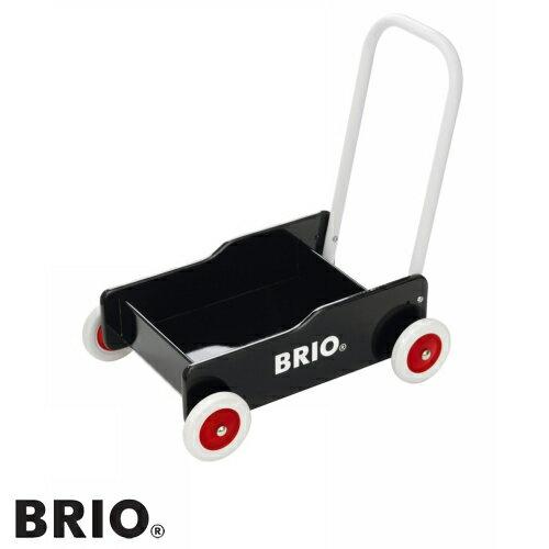 BRIO(ブリオ)【31351】手押し車(黒)/木のおもちゃ