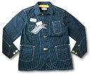 フェローズ カバーオール ワークジャケット PHERROW'S STORMY BLUE ストーミーブルー 08F-555CA-P ''シュナイダー''カスタム ...