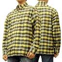 レインスプーナー ネルシャツ ネルチェック reyn spooner メンズ 長袖シャツ 0212-11-004(CH01) #1003黄色 新品