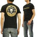 ブルタコ BULTACO Tシャツ スカルワークス コラボ メンズ 半袖tee 21101 黒 新品