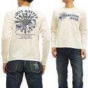 サムライジーンズ 長袖Tシャツ SJSLT14-101 Samurai Jeans メンズ ロンtee オフ白 新品
