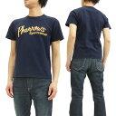フェローズ Tシャツ PT1 Pherrow's Pherrows 定番ロゴ メンズ 半袖tee 16S-PT1 ネイビー 新品