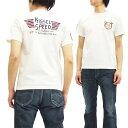 フェローズ Tシャツ PT3 Pherrow's Pherrows Kissel Speed メンズ 半袖tee 16S-PT3 オフ白 新品