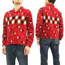 スタイルアイズ コーデュロイ スポーツシャツ SE27427 東洋エンタープライズ メンズ 長袖シャツ #165レッド 新品