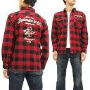 ショッピングSHIRTS テッドマン ネルシャツ TNS-600 TEDMAN メンズ チェック 長袖シャツ 赤×黒 新品
