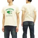 フェローズ Tシャツ PT2 Pherrow's Pherrows バッファロー メンズ 半袖tee 17S-PT2 生成 新品