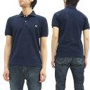 フェローズ ポロシャツ PPS1 Pherrow's Pherrows 定番 メンズ 半袖 POLO 17S-PPS1 ネイビー 新品