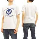 バズリクソンズ BR78015 U.S.エアフォース Tシャツ Buzz Rickson 039 s 東洋 メンズ 半袖Tee 101ホワイト 新品