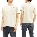 アルファ スヌーピー Tシャツ TC1286 ALPHA ポケット付き メンズ 半袖Tee TC1286-0023 オートミール 新品