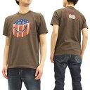 ショッピングarc トイズマッコイ Tシャツ TMC1803 スマイル 星条旗 TOYS McCOY メンズ 半袖Tee ダークチャコール 新品