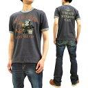 ショッピングシャツ トイズマッコイ Tシャツ TMC1901 フィリックス・ザ・キャット TOYS McCOY メンズ 半袖Tee ネイビーグレー 新品