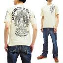 ショッピング仏像 爆烈爛漫娘 Tシャツ RMT-296 仏像 不空羂索観音 エフ商会 メンズ 和柄 半袖tee オフ白 新品