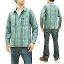 ショッピングネルシャツ フェローズ 19W-720WS チェック ネルシャツ Pherrow's Pherrows メンズ ワークシャツ 長袖シャツ サックス 新品