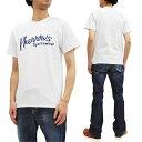 ショッピング新品 フェローズ Tシャツ PT1 Pherrow's Pherrows 定番ロゴ メンズ 半袖tee 20S-PT1 ホワイト 新品