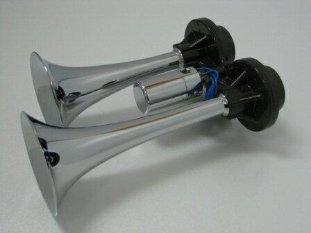 ハイパワーD型ヤンキーホーン メッキ DHP454