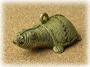 真鍮製 置物 カメ ドクラ インド 先住民族 工芸品 MTB-1182