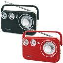 【レトロAM/FMラジオ RA-601】 レトロラジオ クラシックラジオ アンティーク調ラジオ amラジオ fmラジオ ワイドfm対応