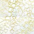 フレームパーツ ゴールド オールmix 全21種類各10個(計210個) 全タイプ全サイズ レジンクラフト 型 枠 チャーム ピアス イヤリング パーツ アクセサリーパーツ 材料 素材 02P29Jul16