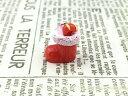 ガラスドーム封入 置き物等に ミニマスコット 赤い靴下 冬 クリスマス ディスプレイ パーツ 素材 材料