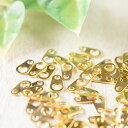 ダルマカン ゴールド 0.6cm 100個 アクセサリーパーツ 材料 素材