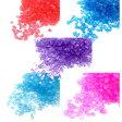 ガラスカレット 5色アソート 3g*4 レジン 素材 材料