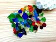 琉球ガラス カレット 虹のかけら サイズ大 30g レジン 封入 材料 アクセサリーパーツ