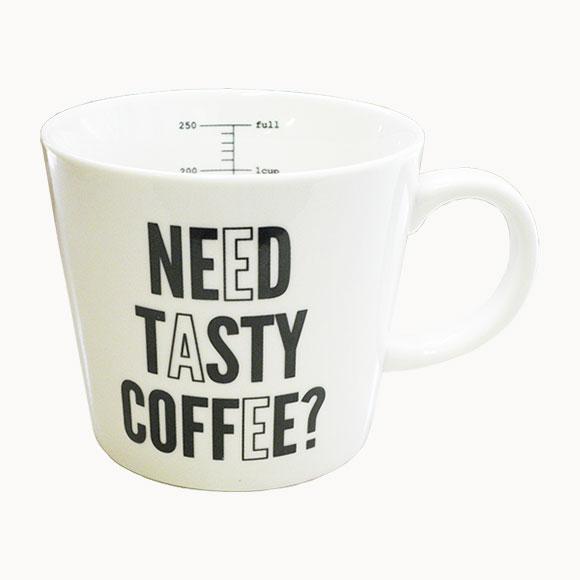 【70%OFF SALE!!】MEASURE MUG TASTYメジャーマグ テイスティーかわいい おしゃれ マグカップ 食器 カフェ 新生活 ギフト プレゼント