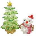 クリスマスキット☆彡ビーズで作るてづくりキット☆ツリー&スノーマン