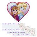 【DISNEY PRINCESS】ディズニープリンセスアナと雪の女王ワッペン・ネームラベルセット(エルサ)
