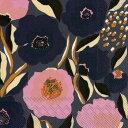 marimekko マリメッコ 可愛い ペーパーナプキン デコパージュ☆ROSARIUM blue rose ロサリウム/ローズガーデン 花柄☆(1枚/バラ売り)
