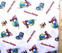 <キャラクター生地・布・USAコットン・直輸入正規ライセンス品>キュリアスジョージ(白)#7【キャラクター】【生地】【布】【キャラクター生地】