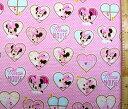 <キャラクター生地 布>ミニーマウス(ピンク)#83ディズニー【入園】【入学】