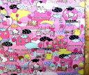 キャラクター 生地 布 サンリオ キャラクターズ(ピンク)#8( 2018 )【生地】【布】【キャラクター生地】【入園】【入学】