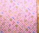 バイオリン・ハーモニー(ピンク) (材料セット・キルティング)レッスンバッグ(またはピアニカケース)とシューズケース用手作りキット【レッスンバッグ】【ピアニカ入れ】【シューズケース】【×クロネコDM便不可】