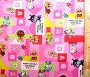 キャラクター 生地 布 アンパンマン(ピンク)#73( 2018 - 2019 )【生地】【布】【キャラクター生地】【入園】【入学】