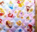 <Qキャラクター・キルティング生地>ディズニープリンセス(オフ/カラフル)#64 ( 2018 -2019 )【キルティング】【キルト】【ディズ..