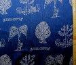 <キャラクター生地・布>キティ(紺)#199(1パネル38)【キャラクター】【生地】【布】【キャラクター生地】
