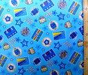 ラミネート 生地 アメリカンパッチ ( ブルー ) ( ビニールシート ラミネート加工 撥水 はっ水 撥水加工 防水 防水加工 ) 【×メール便 ( ゆうパケット ) 不可】【×洗濯機での丸洗い不可】