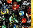 キャラクター 生地 布 爆丸バトルブローラーズ(黒)【キャラクター】【生地】【布】【キャラクター生地】